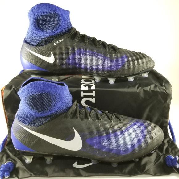 9eb022985 Nike Magista Obra 2 AG Pro Soccer Cleat Mens Black